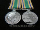 MINIATURE IRAQ RECONSTRUCTION SERVICE MEDAL